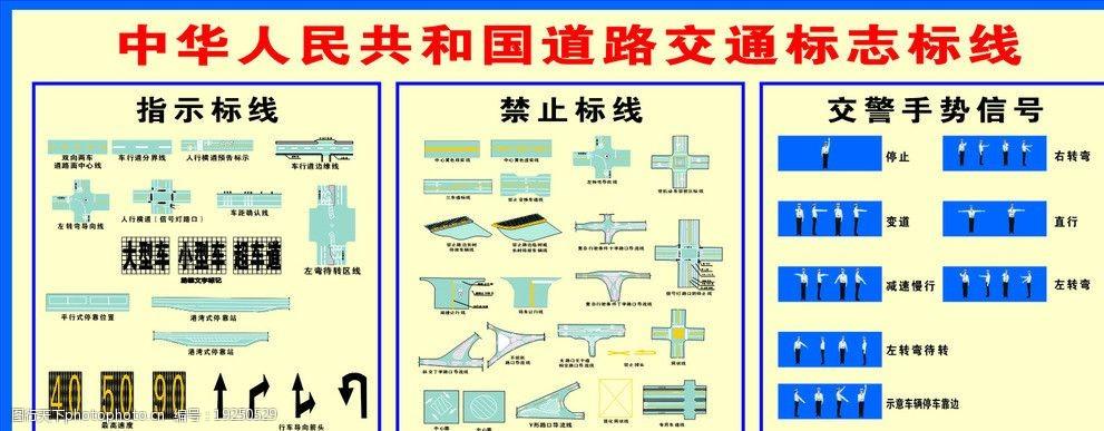 道路交通图片标志联单室内设计单标线控开关图片